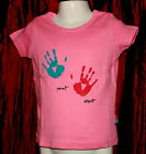 NEW Girls Esprit Pink Top Sizes 2 yrs to 9 yrs Available FREE P&P