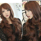 Womens Girls Fashion Bang Style Wavy Curly Long Hair Full Wigs Cosplay Party Wig