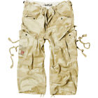 SURPLUS US MILITARY ENGINEER 3/4 MENS LONG SHORTS COMBAT CARGO DESERT STORM CAMO