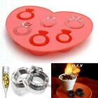 Cool Ring Party Drink Cube Mould Jelly/Chocolate/Ice Ring Maker Tray