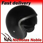 VIPER RS-V06 OPEN FACE JET TOURER MOTORCYCLE MOTORBIKE HELMET GLOSS BLACK