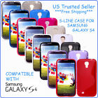 S LINE TPU SOFT GEL RUBBER SKIN CASE COVER FOR SAMSUNG GALAXY S4 SIV I9500 NEW