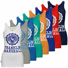Franklin & Marshall Women's Stretch Slim Fit and Crest Logo Vest Top