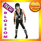 C691 Kiss CATMAN DELUXE Peter Criss Mens 80s Halloween Fancy Adult Costume