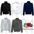 Fruit of the Loom Sweatjacke Sweat Jacket Stehkragen Sweater Pulli SALE