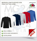 Fruit of the Loom - langarm Shirt Longsleeve T-Shirt *SALE*