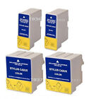 4 Ink Cartridges For Epson ET-T036 Black / ET-T037 Colour