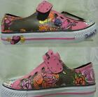 Skechers Twinkle Toes 'Wisdom' Girls Hot Pink/Multi Coloured Casual Trainers