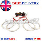 HALO RINGS ANGEL EYES 66 SMD LED 6000K UPGRADE COMPLETE KIT BMW