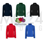 FRUIT OF THE LOOM Lady Fit Fleece Jacket Fleecejacke Fleece Fleecepullover TOP
