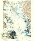 Historical Topographic Maps - SAN FRANCISCO SHEET CALIFORNIA (CA) USGS 1895