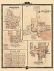 Historic City - MONTICELLO IOWA LANDOWNER MAP 1875