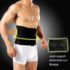 Adjustable Male mens slimming Belt Two Pull Tummy Waist Supprt Shaping Body