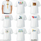MENS Personalized FATHER  & GRANDPA T-SHIRT Fathers Day GRANDFATHER GIFT TEE