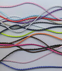 BRAIDED LEATHER NECKLACE CORDS APPROX 46CM LONG