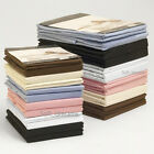 200 Thread Count Egyptian Cotton Fitted Bed Sheets Single Double King Superking