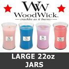 WoodWick Candles Scented Large Jar Variety