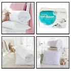 New Anti-Allergy Cot Bed Duvet or Pillows Nursery Baby Toddler Junior Quilt