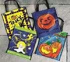Trick Or Treat Halloween Bags - New - Fancy Dress Party - Pumpkin Witch Ghost