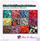 Mixed Assorted Plastic Buttons 25g 50g 100g Scrapbook Craft Sewing Card Making
