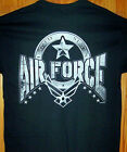 UNITED STATES AIR FORCE Black T Shirt Sz SM - 5XL Kicking Ass Since 1947  USA