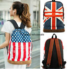 Fashion Canvas Shoulder Bag School Bag Large Capacity Campus Backpack Gift
