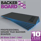Underfloor Heating Insulation Reinforced Tile Backer Boards 6mm + 10mm  +  20mm