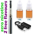SILVER E Shisha Sheesha Electronic Stick Pen + 2 Refill Liquid Oil Flavour Juice