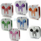 8 Color Choose EarPods Stereo Earphone Volume Remote & Mic For iPhone 5 5G B41U