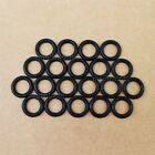 100Pcs Rubber O-Ring Section 1mm (select more diameter)