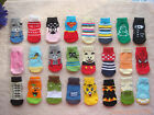 20 pairs dog puppy gift Pets anti-slip warm soft Socks for shoes size S/M/L/XL