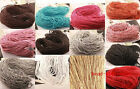 5m/10m/100m Man-made Leather Braid Rope Hemp Cord For Necklace Bracelet