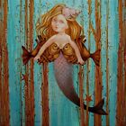 "Needlepoint canvas ""Ocean Lady.Pisces"""