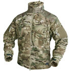 HELIKON LIBERTY HEAVY DOUBLE FLEECE MENS COMBAT POLAR ARMY JACKET MULTICAM CAMO
