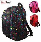 New Girls Womens Chervi Stars School College Hand Luggage Travel Backpack Bag