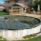 """CAMO MAN"" - ABOVE Ground WINTER POOL COVER, 20 Yr -  BUST OUT SALE - ALL SIZES"