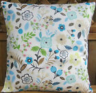 INDOOR OUTDOOR PATIO BROWN GREEN SPOTTED CUSHION COVERS THICK & HARD WEARING