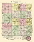 LABETTE COUNTY KANSAS (KS) BY L.H. EVERTS & CO. 1887