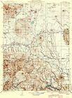 Topographical Map Print - Bartle California Quad - USGS 1939 - 23 x 31.09