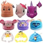 CARTOON CHARACTER ADULTS PLUSH CHARACTER NOVELTY HATS
