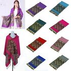 Paisley Floral Pashmina Cashmere Scarf Hijab Tassels Shawl Wrap Stole Soft Warm