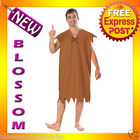 C781 The Flintstones Barney Rubble Flintstone Mens Halloween Fancy Adult Costume