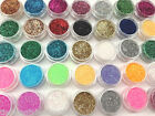 HOLOGRAPHIC GLITTER POTS FINE HIGH QUALITY HUGE RANGE OF COLOURS NAIL ART CRAFT