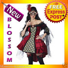 C794 Sexy Mysterious Masquerade Renaissance Adult Halloween Fancy Dress Costume