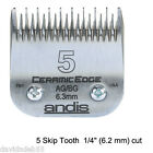 ANDIS CERAMIC EDGE AG /BG Blade Fit Oster A5, Most Wahl, Laube Clipper PET GROOMING