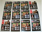 NFL Football Black Eye Strips - 6 Vinyl Eye Strips Per Package NEW