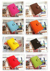 Leather Business ID Credit Card Holder Handbag Fashion Purse Wallet Case Pocket