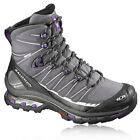 Salomon Womens Cosmic 4D 2 Gore-Tex Grey Waterproof Walking Boots Shoes New