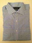 NEW Men's Lauren Ralph Lauren Non Iron Dress Shirt 0922449 Blue Plaid 15.5 34/35