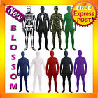C863 Disappearing Man Second Skin Full Body Suit Zentai Bucks Halloween Costume